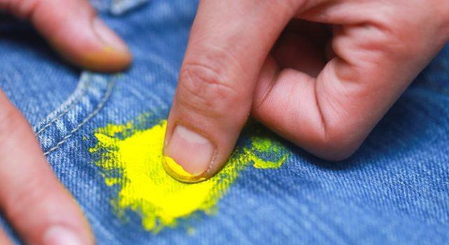 Эффективное удаление масляной краски