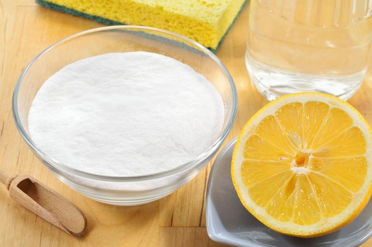 Соль и лимон в паре – отличные пятновыводители