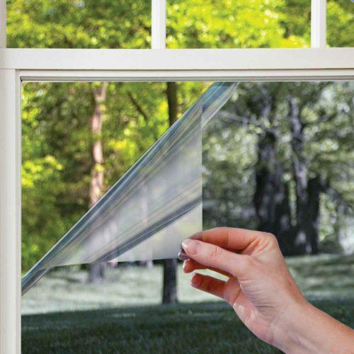 Чем отмыть окна от солнцезащитной плёнки