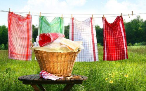 Лимонную кислоту, нашатырь и перекись можно использовать для цветного текстиля