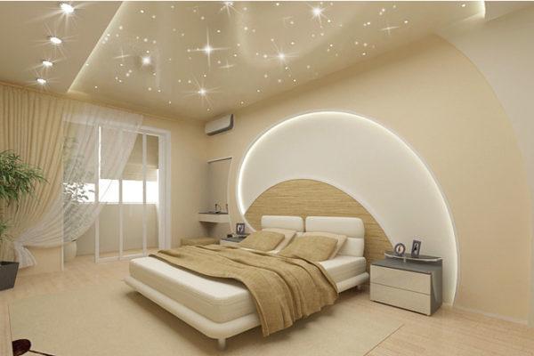 Натяжные потолочные глянцевые покрытия