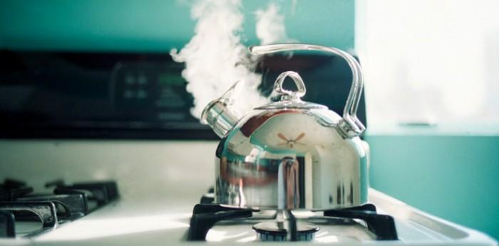 Пар из чайника может быть полезным в вашем деле
