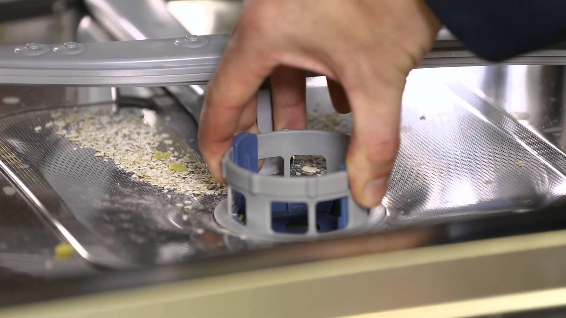 засор посудомоечной машины