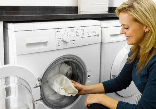 Стирка кухонных полотенец