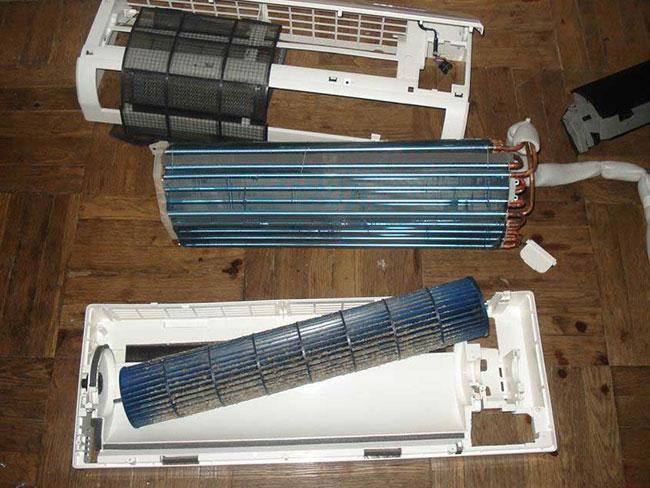 Чем промыть радиатор домашнего кондиционера калуга установка кондиционеров в