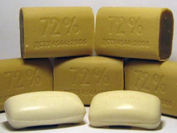 …или хозяйственное мыло
