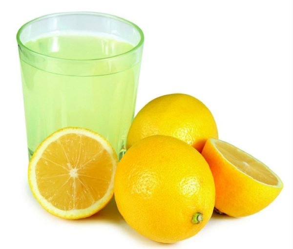 Лимонный сок – отличный способ