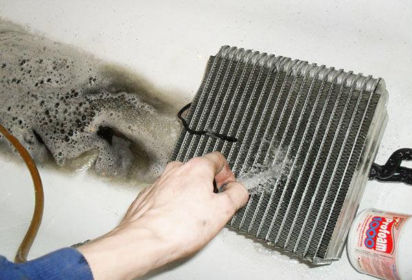 Мытье теплосборника