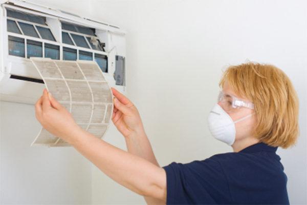 Подумайте о собственной защите от пыли