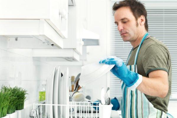 Правильная мойка посуды