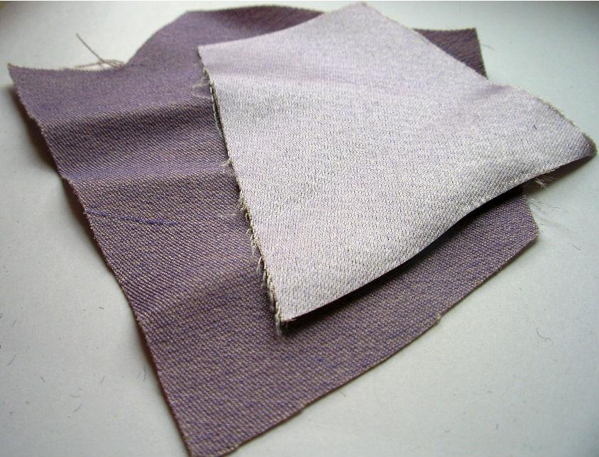 Ткань с прослойками