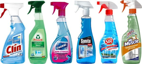 Жидкости для мытья окон очистят пятна от чернил