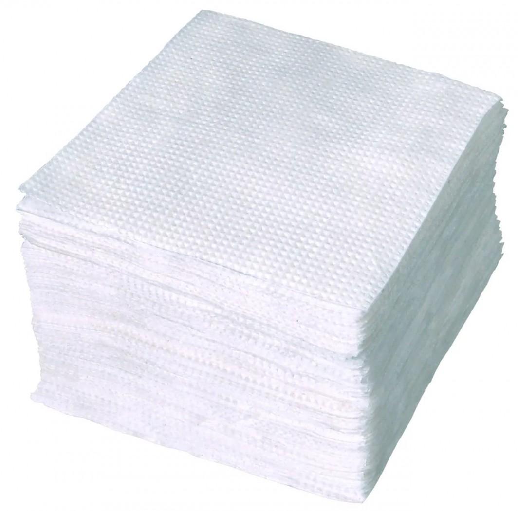 Бумажные салфетки первыми «придут» на помощь