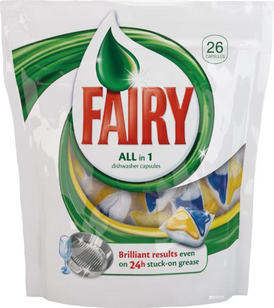 Гелевые капсулы Fairy