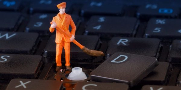 Глубокая чистка – это обязательно снятие клавиш