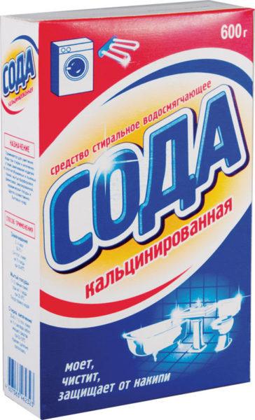 Нужна именно кальцинированная сода