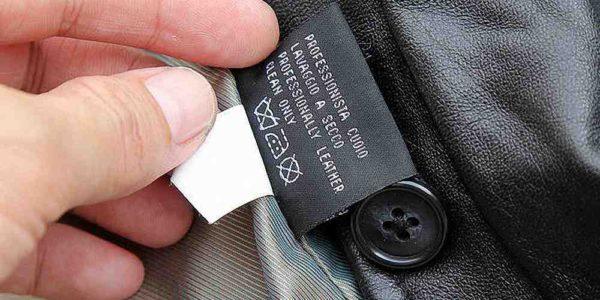 Перед там, как стирать пиджак в стиральной машине, изучите этикетку