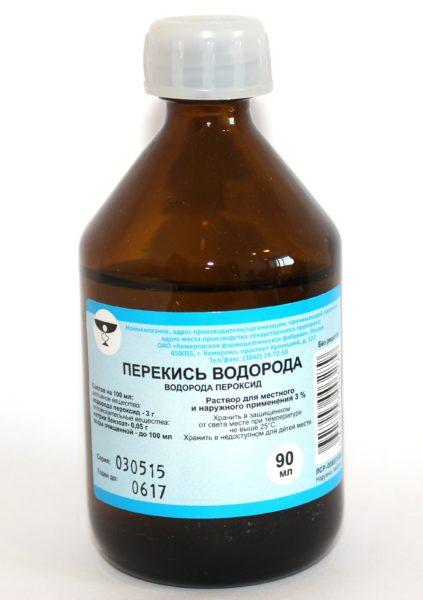 Перекись водорода – безопасное средство от грибка