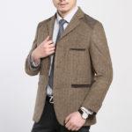 Теплый и престижный шерстяной пиджак