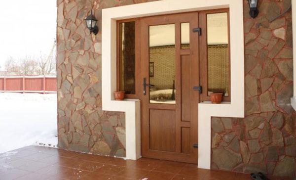 Двери с ПВХ