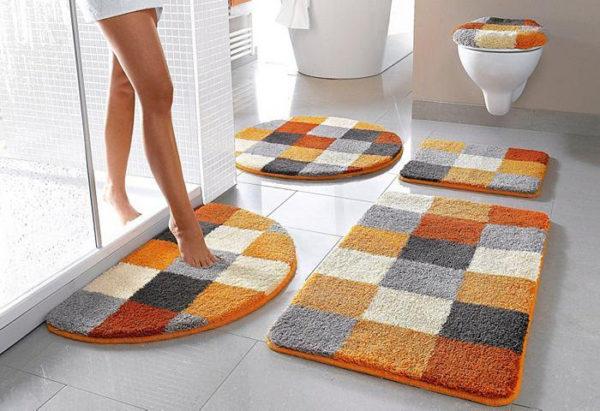Как стирать коврик для ванной – удобно это сделать в машинке