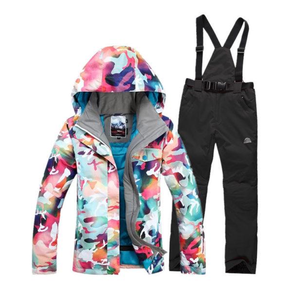 Лыжные куртки с термо слоем