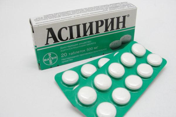 Можно попробовать и аспирин