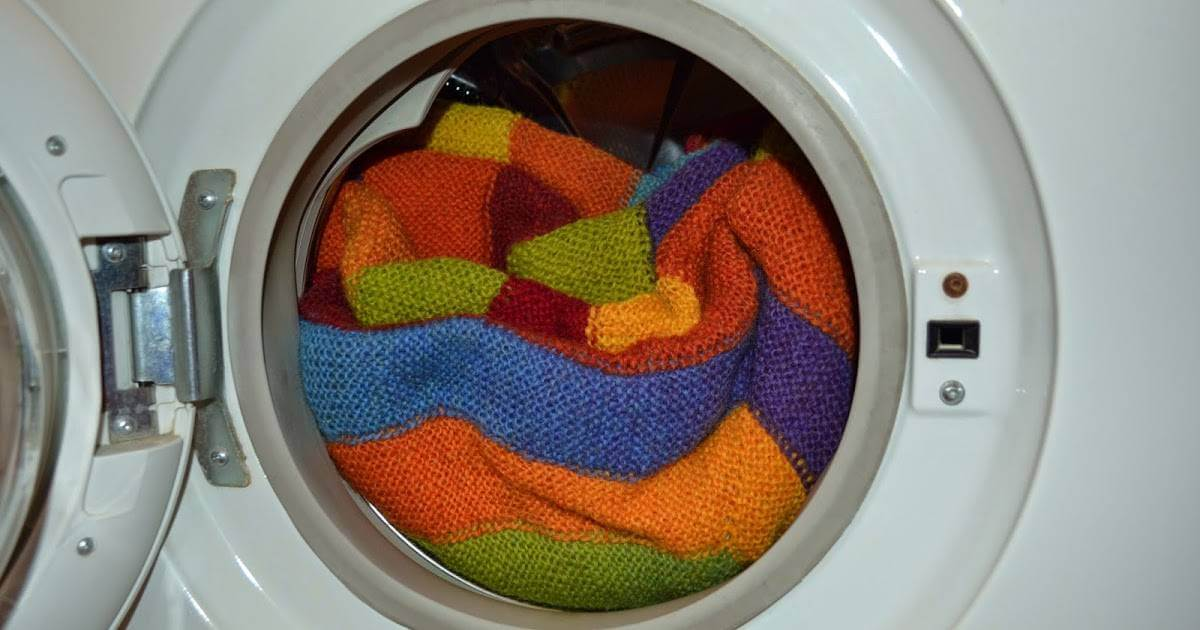 В машине можно стирать только свитер машинной вязки
