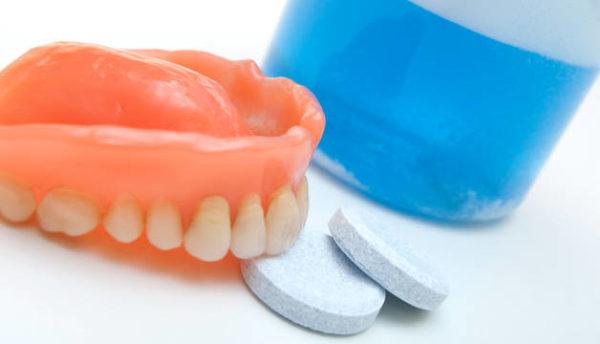 Таблетки для зубных протезов