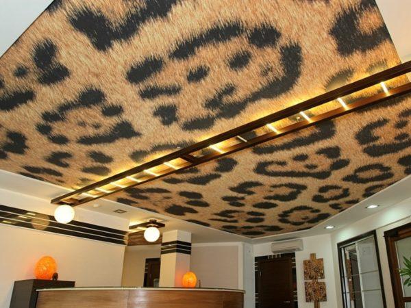 Ворсовый потолок