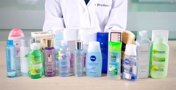 Может помочь и средство для снятия макияжа