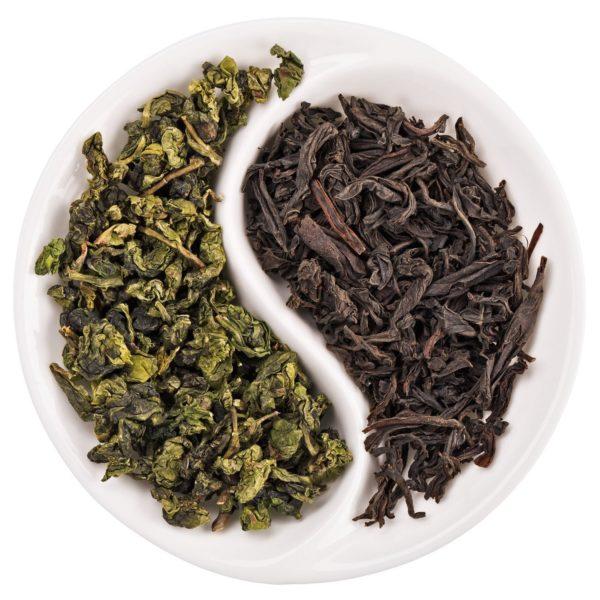 Чай черный или зеленый
