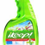 IKeep – эффективное средство для мытья пластиковых окон