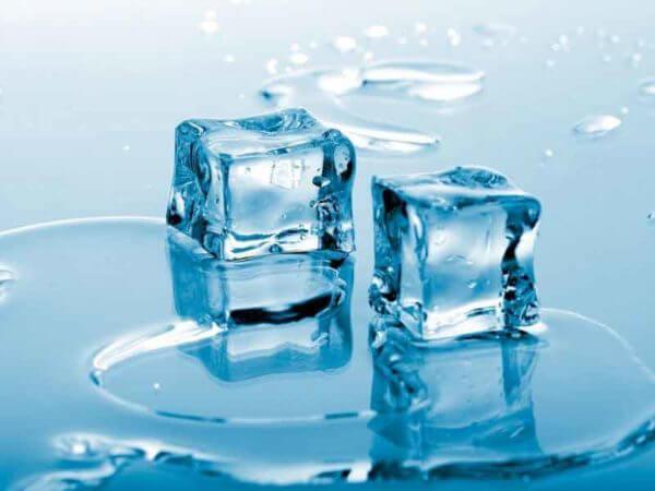 Некоторые загрязнения нужно заморозить