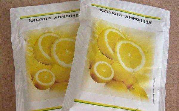 Самый простой способ—раствор лимонной кислоты