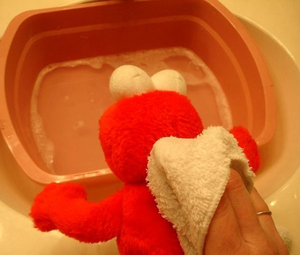 Высушите дополнительно полотенцем