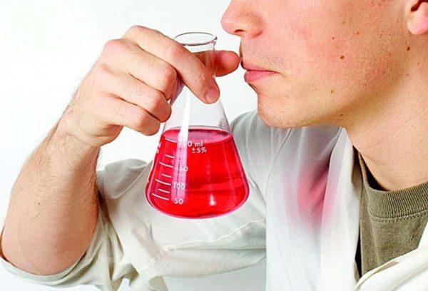 Запах химии