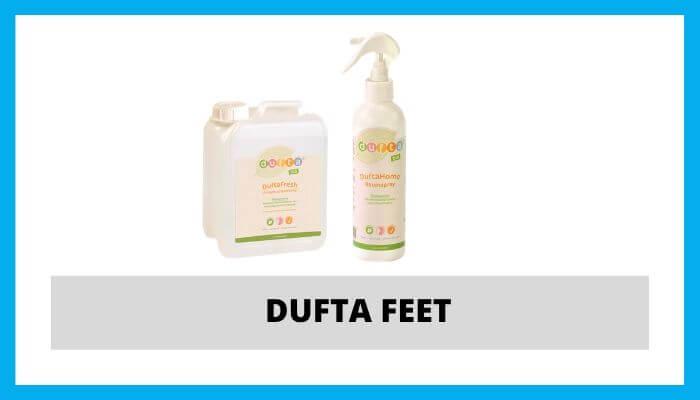 Dufta feet