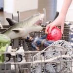 вещи в посудомойке