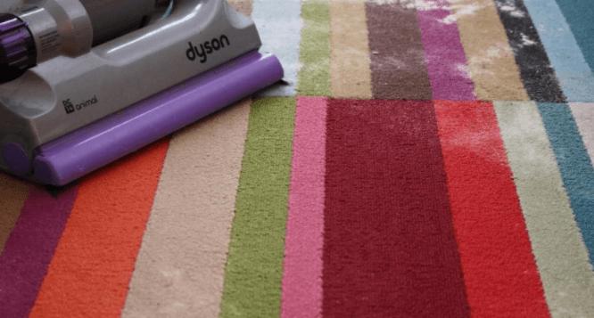 крахмал на ковре